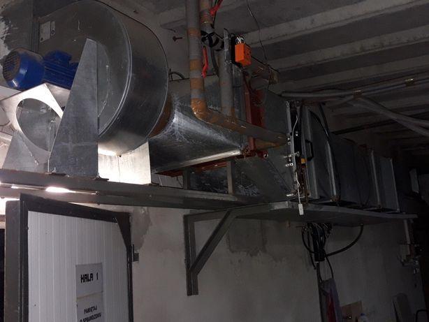 System wentylacji do pieczarkarnia