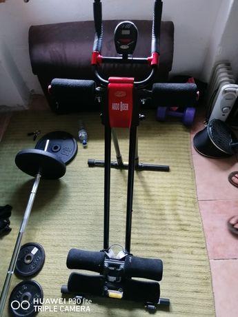Máquina de exercícios para abdominais