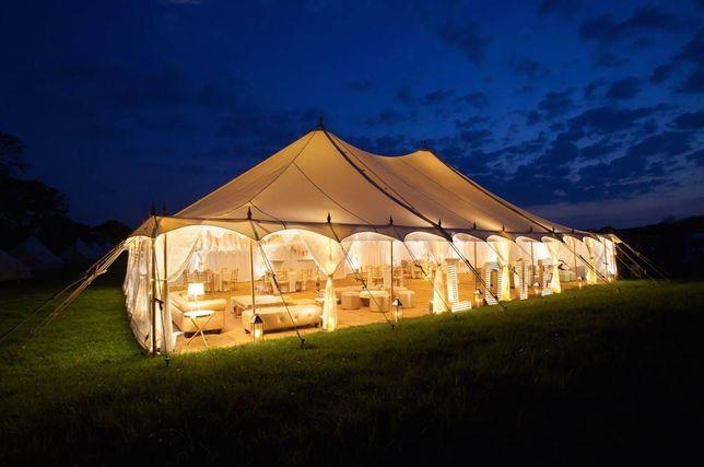 Namiot imprezowy, wesele w plenerze. Namioty bankietowe, festiwalowy