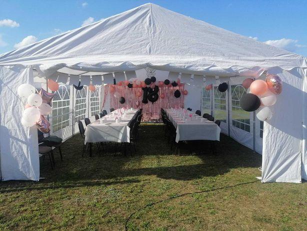 Wynajem namiotów na imprezy okolicznościowe + stoły z ławkami!