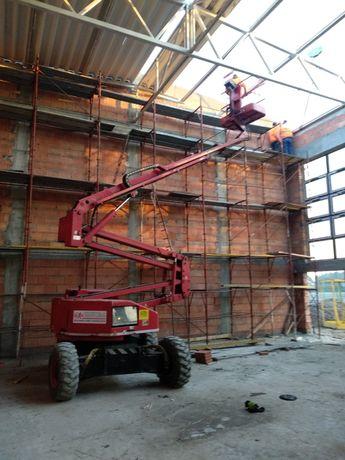 Podnośnik koszowy usługi remontowo budowlane