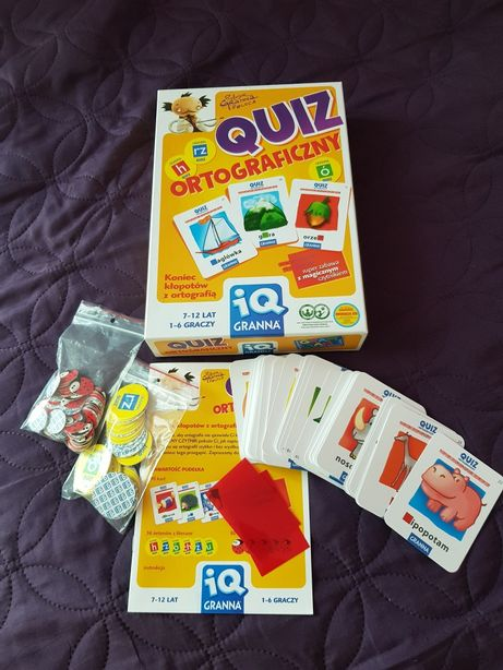 Gra - Quiz ortograficzny