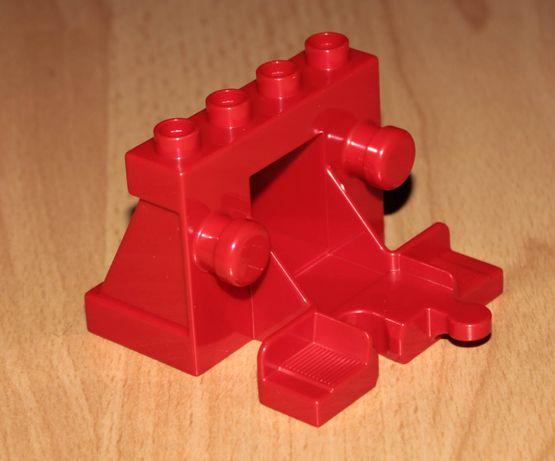 Klocki LEGO DUPLO Pociąg kolejka bocznica tor końcowy