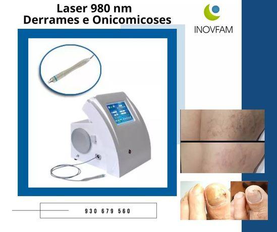 Laser fungos e derrames