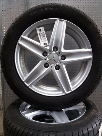 "Koła aluminiowe 16"" cali 5 x112 Mercedes Audi Vw Skoda Seat itp zimowe"
