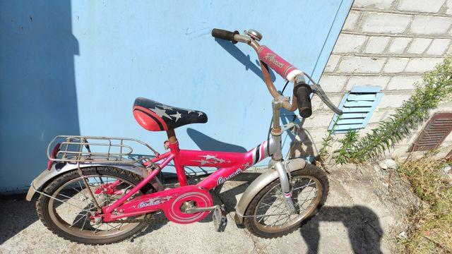 Велосипед салют подростковый