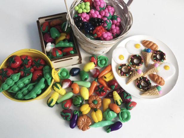 Мини Овощи и мини Фрукты
