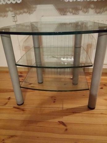 stolik ze szkła hartowanego