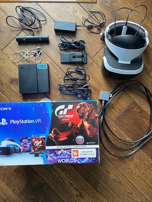Продам PS VR з камерою в ідеальному стані Львов - изображение 1