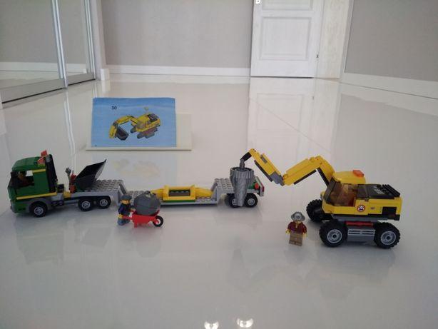 LEGO City Лего сити пожарный Экскаватор 4203