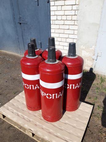Продам пропановые газовые  баллоны 8шт.