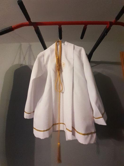 Alba komunijna +  spodnie cały komplet 140 cm Brzezna - image 1