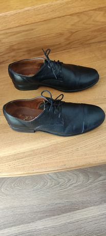 Buty czarne garniturowe,komunijne rozmiar 36