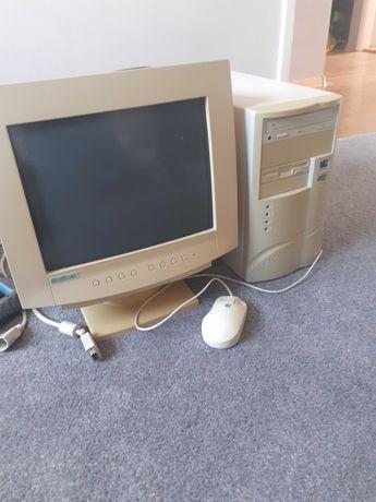 Komputer,  monitor,  myszka