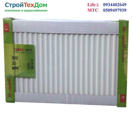 Стальные радиаторы Terra Teknik 22 тип боковое подключение