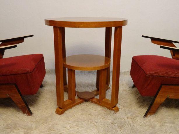 Projektowy stolik kawowy w stylu Art Deco z lat 20stych - Polska