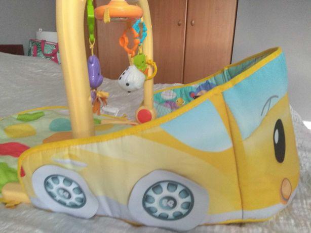 Mata wesoły samochodzik Fischer Price 3w 1