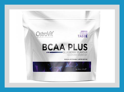 Аминокислоты Ostrovit BCAA PLUS 400 g Купить bcaa + глютамин в Киеве