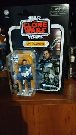 Star wars figurka arc trooper fives vintage collection
