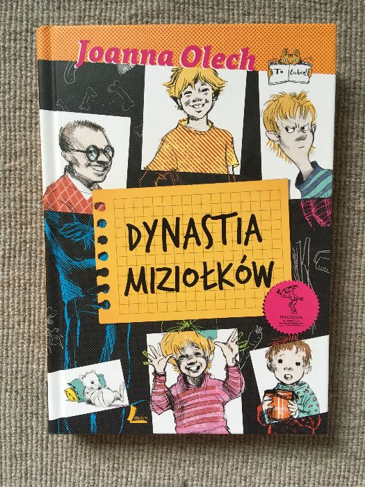 Klasyka literatury Dynastia Miziołków Joanna Olech Plewiska - image 1