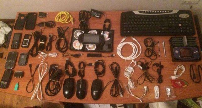 Telemoveis,,jogos,cabos,adaptadores