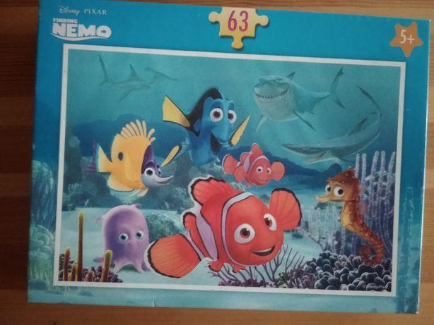 Puzzle Gdzie jest Nemo 63 el