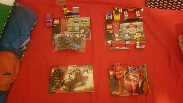 Lego cars 8200,8201,8206,8424 Zygzak, Złomek.
