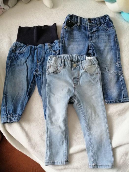 Spodnie jeansy chłopięce niemowlęce Next, H&M 74 Bielsko-Biała - image 1