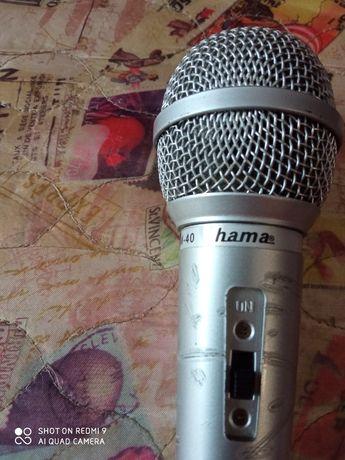 Микрофон Hama с переходником