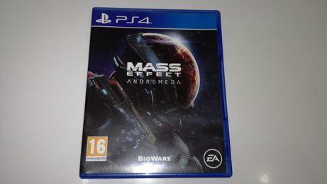 ps4 MASS EFFECT ANDROMEDA PL polska wersja super gra kosmiczna