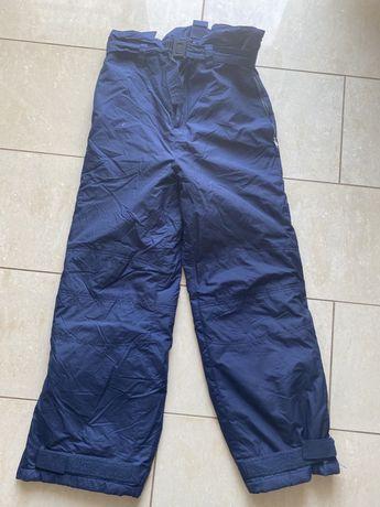 TCM Tchibo r. M spodnie zimowe narty/sanki granatowe M uniseks