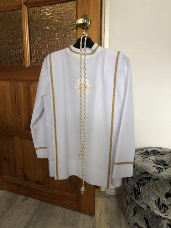 Alba komunijna dla chłopca,spodnie i kamizelka