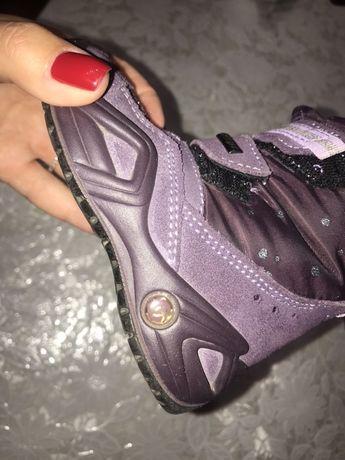 Ботинки на девочку 21 размер