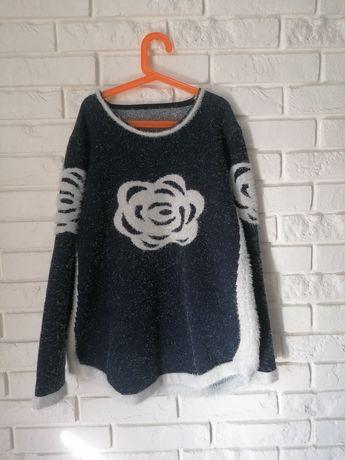 Sweterek XL bardzo ciepły