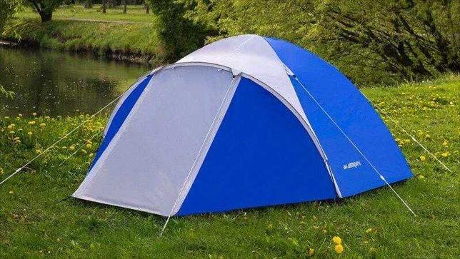 Палатка Acamper Acco 4 Pro, 3500 мм, синяя
