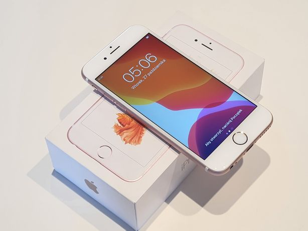 Iphone 6s 64gb idealny stan bateria 100% Rose gold