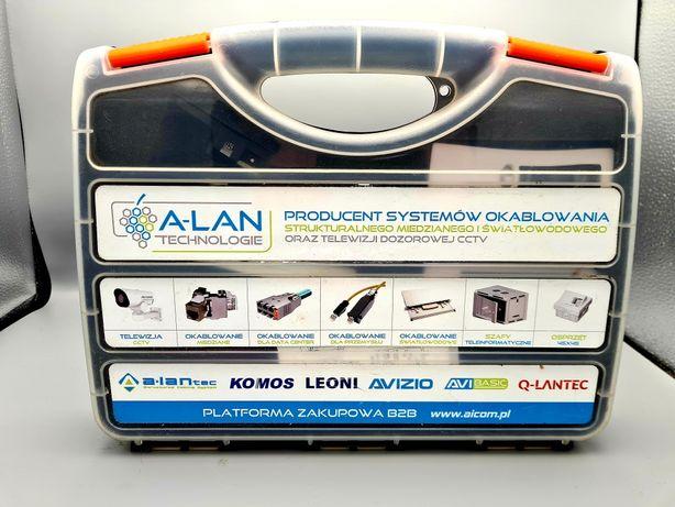 Zestaw narzędzi instalatorskich walizce tester okablowania zaciskarka
