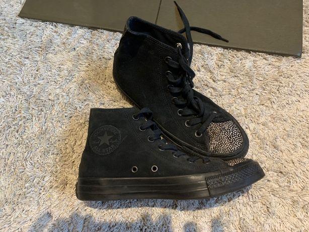 Buty za kostkę converse r. 38 (24,5cm) jak nowe