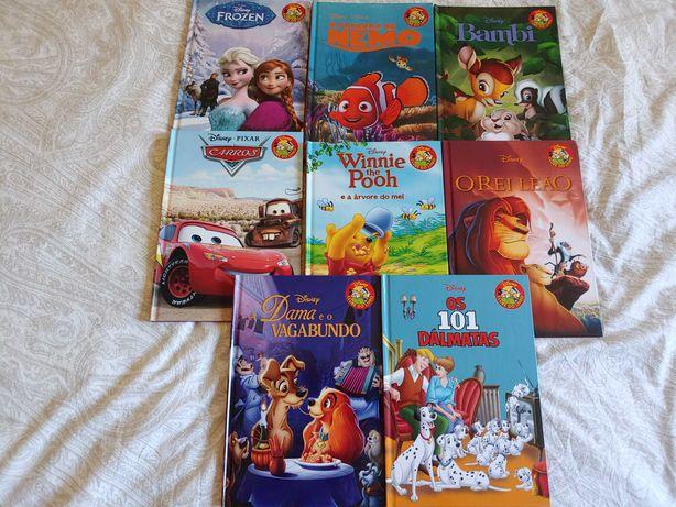 Pack de 8 Livros da DISNEY