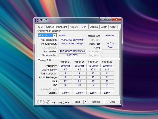 Оперативная память Ramaxel 4GB+2GB SO-DIMM DDR3-1600 PC3-12800