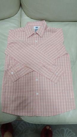 Рубашка олдневи бу в хорошем состоянии на рост 146