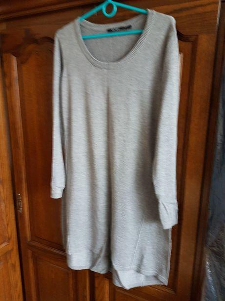 Sweter długi. Ciążowy rozmiar42/44