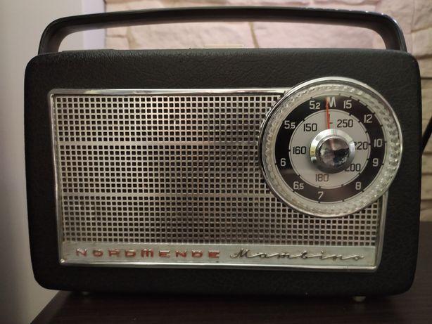 Stare radio kolekcjonerskie NordMende Mambino