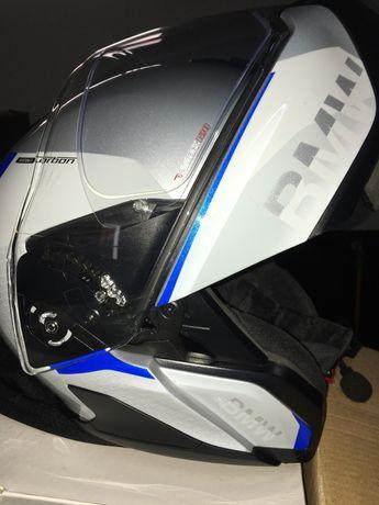 BMW , conjunto capacete com freecom 4 e casaco streetguard novos !!