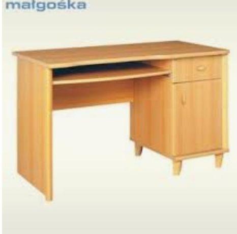 Duże biurko do pracy - Black Red White