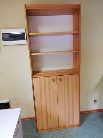 szafka regał sosnowy IKEA i inne regały