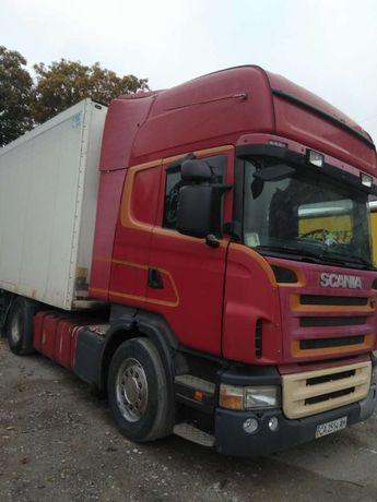 тягач Scania R 420 2007