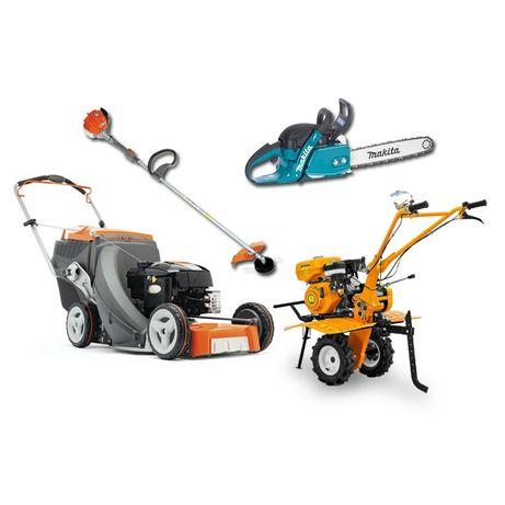 Услуги ремонта садового оборудования ( генераторы, мотокосы и др)