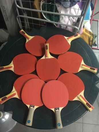 Raquetes pingo pong