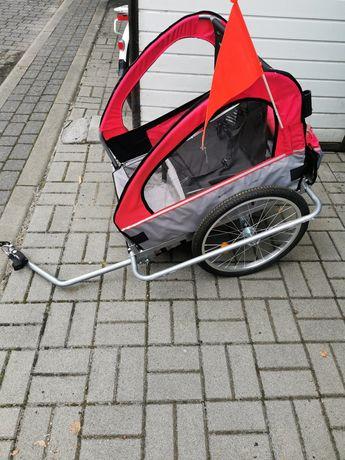 przyczepka rowerowa dla dziecka 2w1